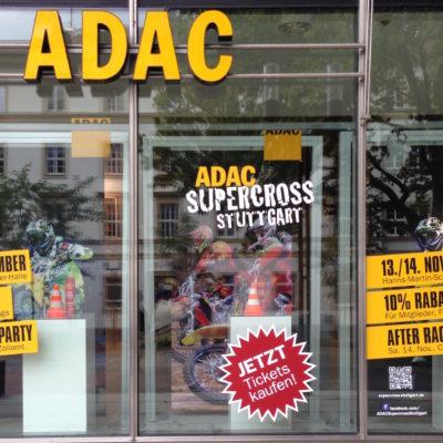 Adac Schaufenster Gestaltung Design Ladenausstattung Pos Marketing