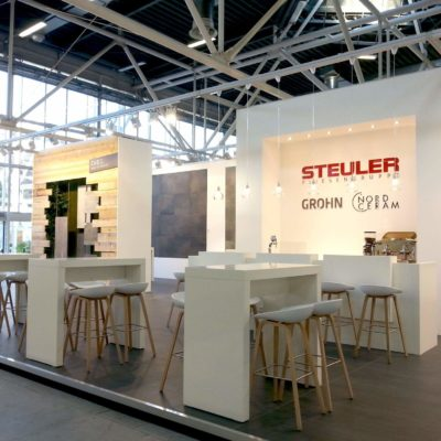 Messestand Design Architektur Messeauftritt Messesystem